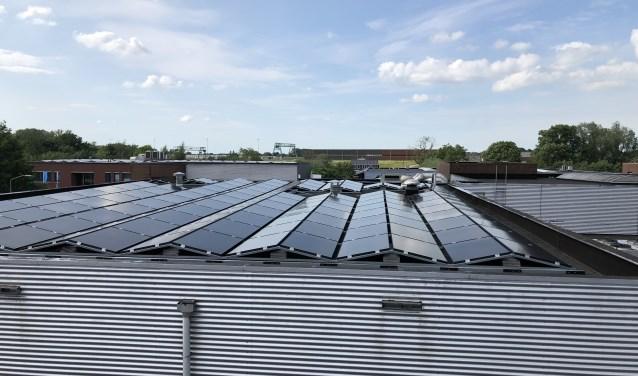 Bedrijven worden gestimuleerd om zonnepanelen op hun dak te installeren