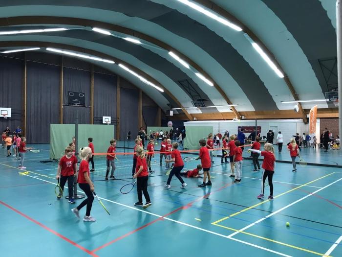 Kinderen in actie tijdens het SportOntbijt Archief SportSupport © BDU media