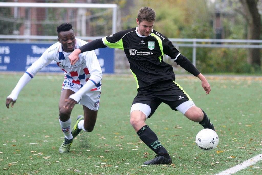 Amstelveen Heemraad verloor nipt het uitduel tegen De Dijk. Hans van Beek © BDU media