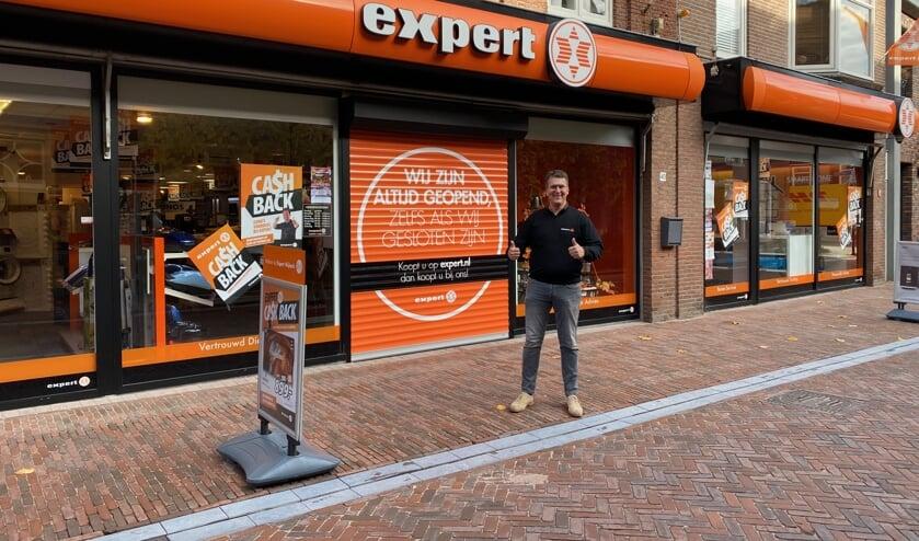 Dankzij de fysieke winkel in het centrum én de online winkel is Expert Nijkerk altijd open.