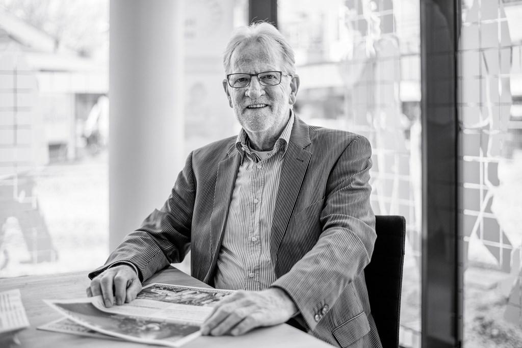 Klaas Roskam, voorzitter van het wijkplatform Leusden-Zuid. ,,Het was een frustrerende periode.''  Dannis van der Heiden © BDU media