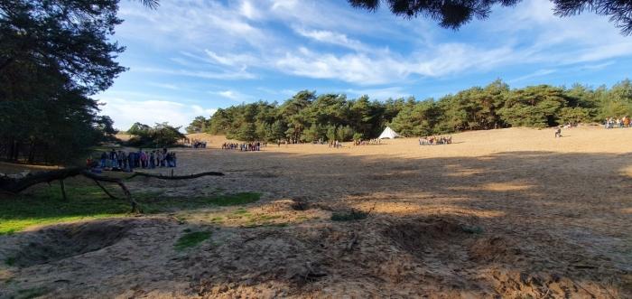 Jaarlijkse herfst activiteit scouts - Regio Neder Veluwe - Wekeromse zand