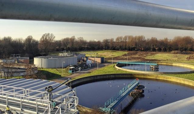 Een rioolwaterzuivering van waterschap HDSR