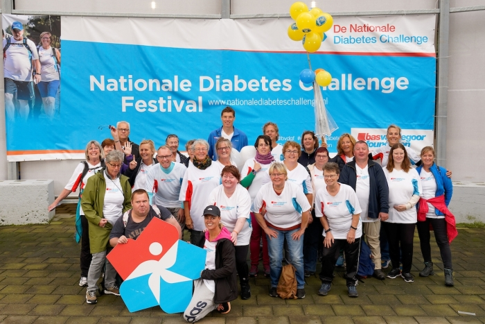 Deelnemers Nationale Diabetes Challenge 2019