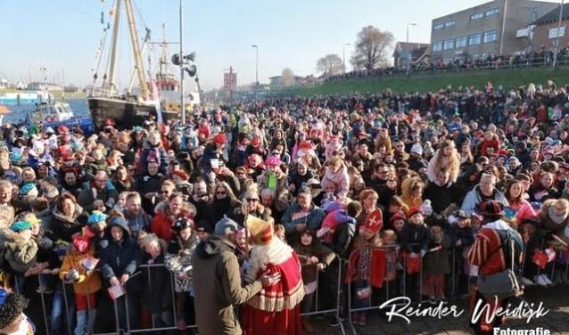 De Intocht van Sinterklaas in 2018.