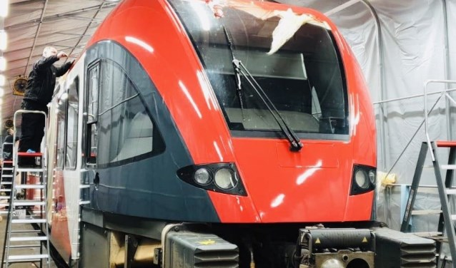 Nieuwe look voor treinen MerwedeLingelijn - DeStadGorinchem.nl