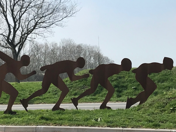 Schaatsers in beeld museum De Koperen Knop © BDU media