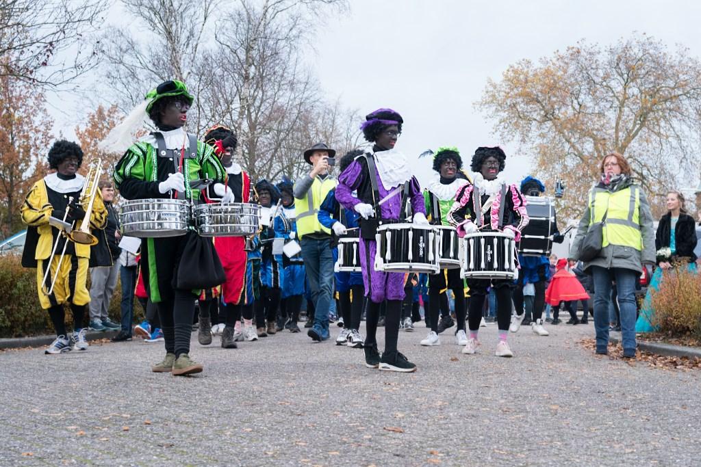 trommel Pieten begeleiden Sinterklaas Klaas Haitsma © BDU media