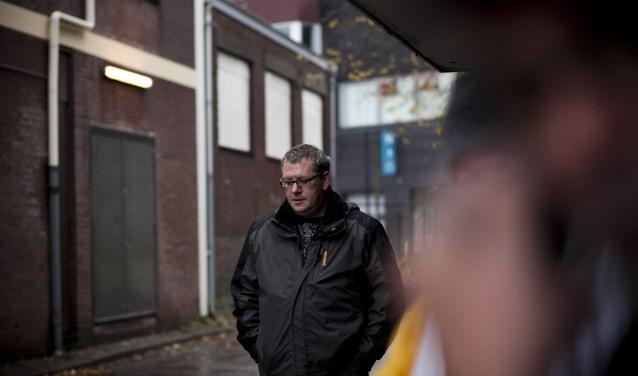 De Edese pastor Max Paans. ,,Mensen die op straat leven niet veroordelen, maar er simpelweg voor ze zijn.''