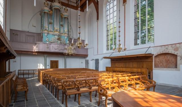 De Waalse kerk is geheel gerenoveerd en is sinds kort weer geopend.