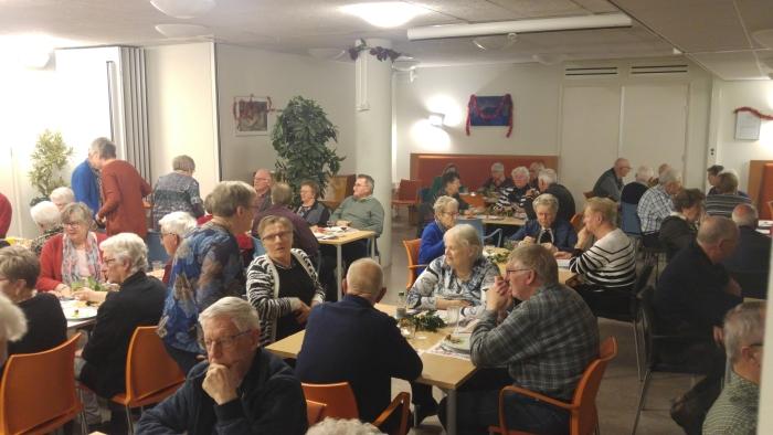 Gezamenlijke maaltijd Senioren Belangen
