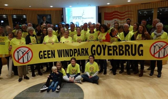Actiegroep 'GEEN windpark Goyerbrug