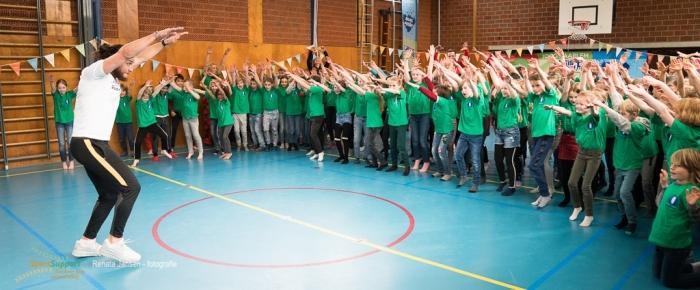 Juvat tijdens de opening van de Week voor de Gezonde Jeugd Renata Jansen Fotografie © BDU media
