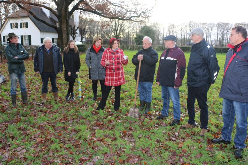 Alle betrokkenen op het Landgoed Harscamp. Freek Wolff © BDU Media