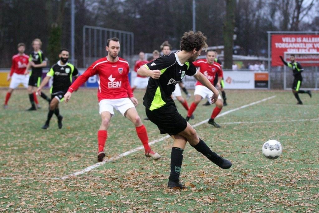 Amstelveen Heemraad won het uitduel tegen Pancratius. Hans van Beek © BDU media