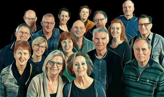Vocaal Ensemble Kwarts.
