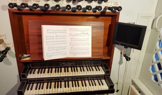 Amstelkerk orgel.