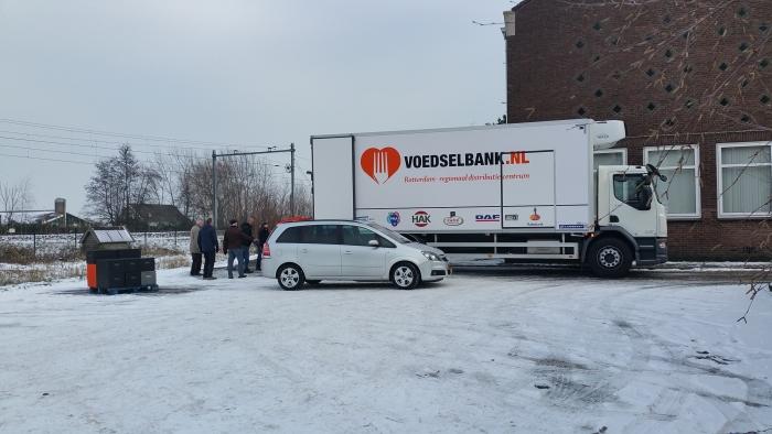 Vrachtwagen Depot Rotterdam