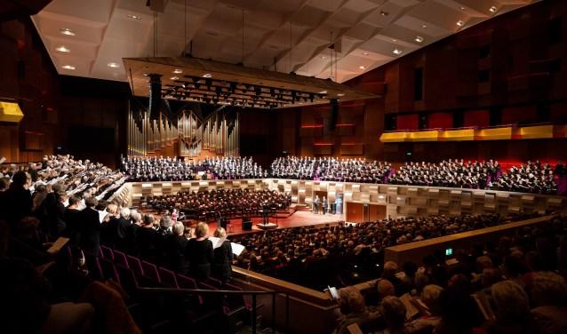 Het Groot Nederlands Johannes de Heer koor zingt 14 december in de Fonteinkerk in Nijkerk.