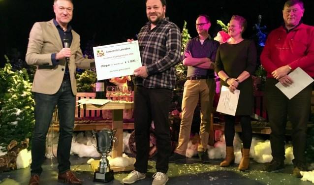De trofee werd vorig jaar gewonnen door schoolvoetbal Leusden-Achterveld.