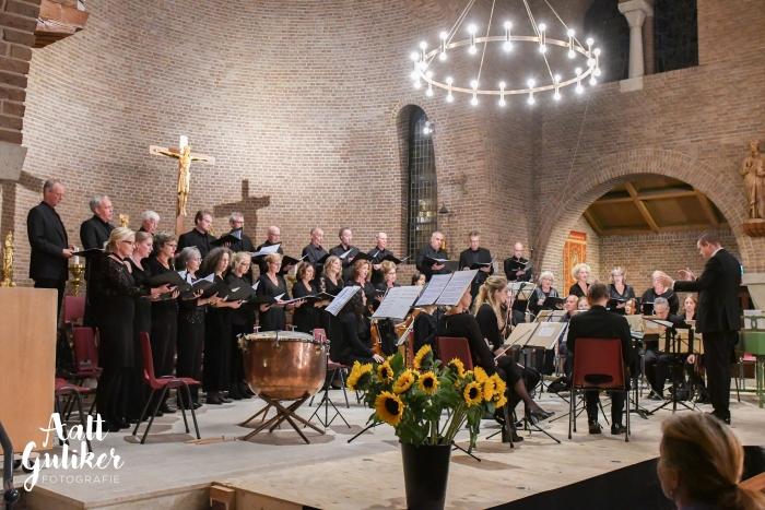 Bach Consort Nijkerk tijdens het 5-jarig jubileumconcert