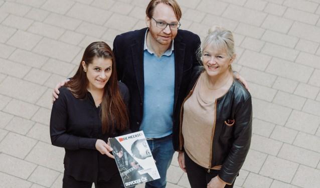 Lotte Lammers (artistiek leider Duycker), Erik Jobben (directeur) en Katja Brenninkmeijer (artistiek leider De Meerse)