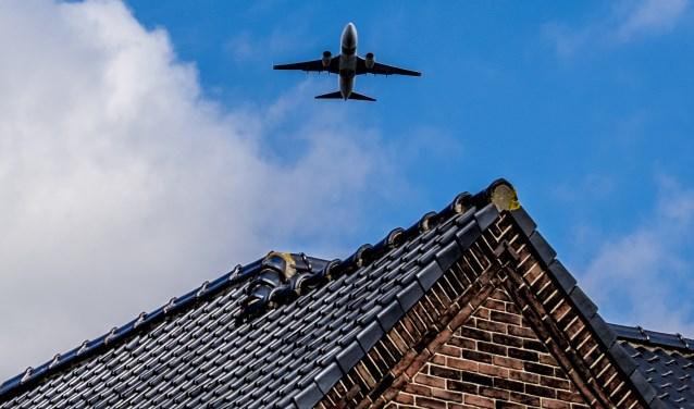 Het vliegverkeer draagt bij aan de hoeveelheid ultrafijnstof