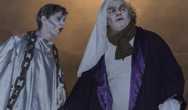 Het bekende verhaal van Scrooge komt tot leven in Theater de Speeldoos.