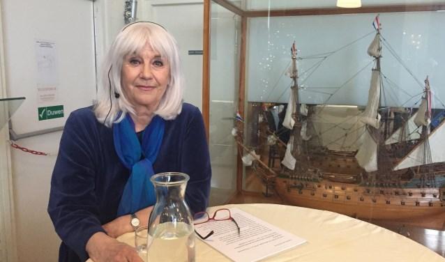 Conny Braam is écht trots op het Zee en Havenmuseum.