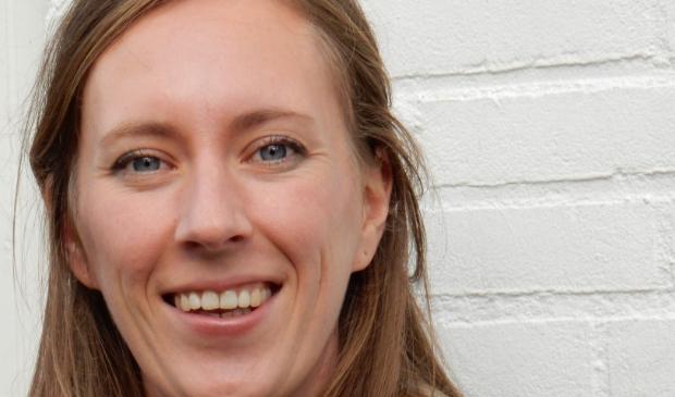 <p>Een van de jongerenwerkers:Emma Burgman</p>