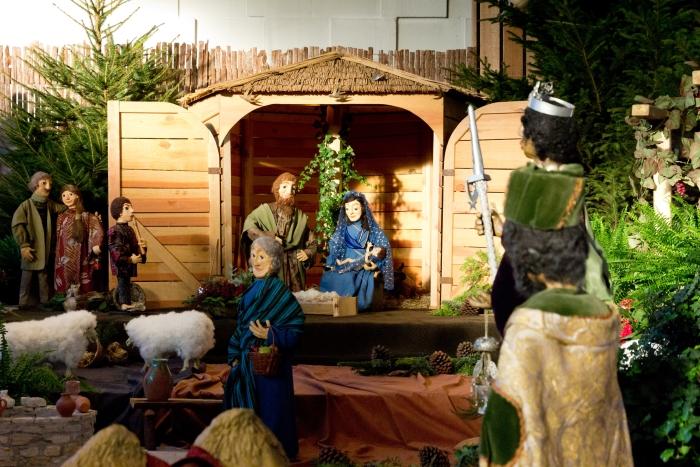 Kerststal Nicolaaskerk, Odijk van kunstenares Thea Lammers