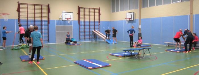 Trainen in circuitvorm voor de wintersport
