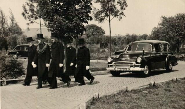 Begrafenis rond 1960