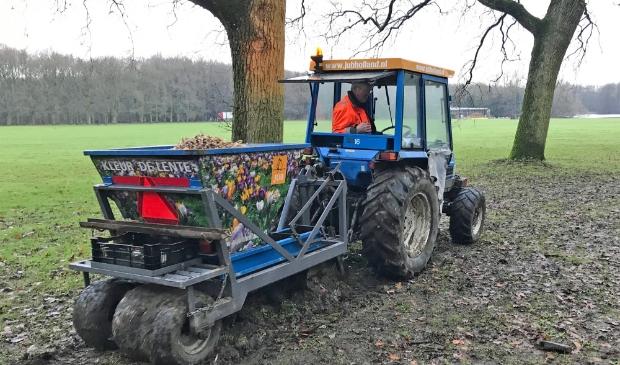 <p>Vorig jaar werden al 500.000 bollen in het Amsterdamse Bos geplant.</p>