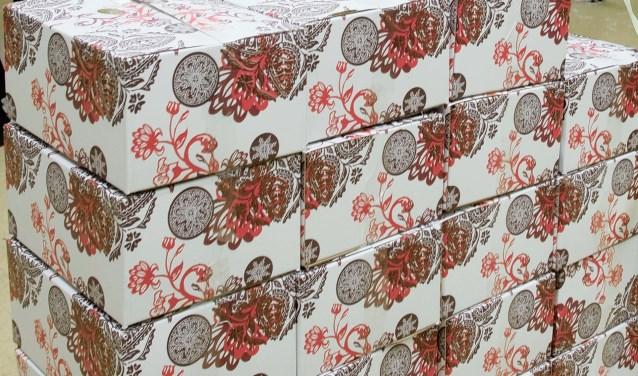 Kerk en Minima kon 250 huishoudens blij maken met een feestdagenpakket