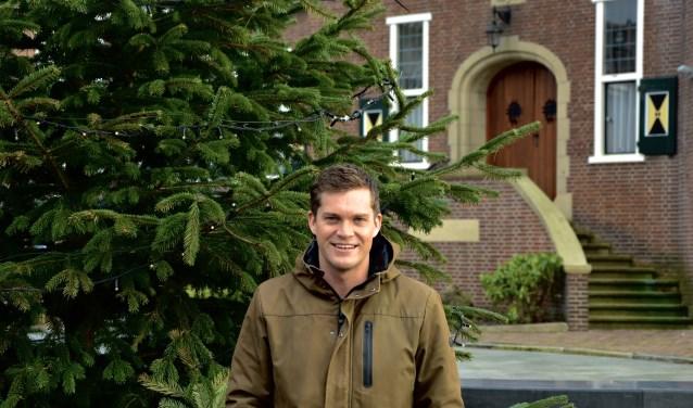 Björn de Jong neemt, net als een jaar geleden, ook dit jaar de organisatie van het Nieuwjaarsfeest in Woudenberg op zich.