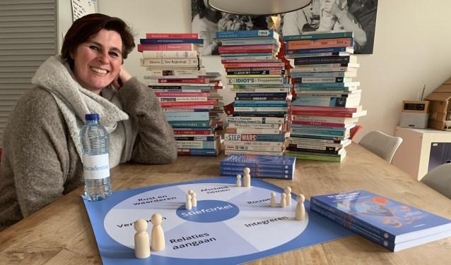 Karin den Hollander, oprichtster van Stiefacademie Nederland.