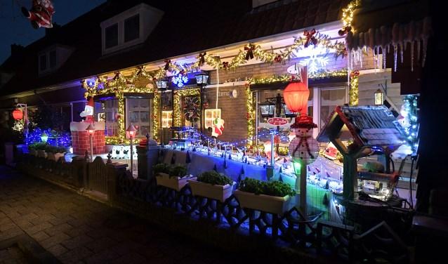 Kerstverlichting Hugo de Grootstraat