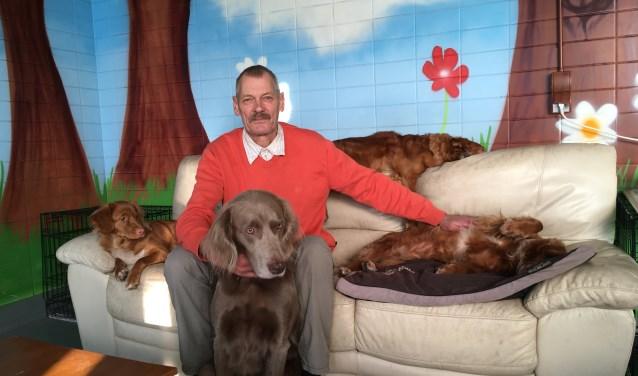 Carel van de Voorde zoekt ruimte voor Holidaydogs.