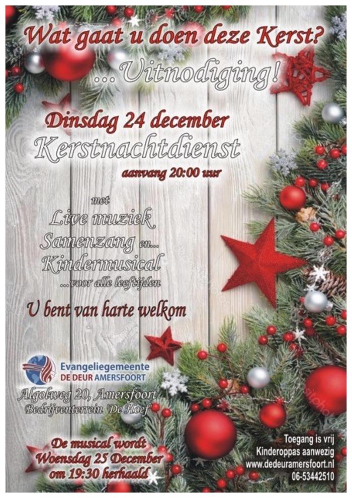 Folder kerstnachtdienst  M.Klok © BDU Media