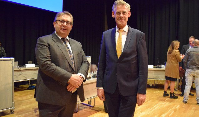 De kandidaat-wethouders van SGP-huize: Gerard van Deelen en Izaak van Ekeren.