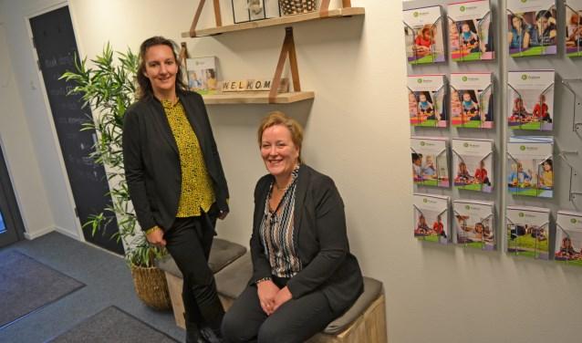 """Anouk Brinker en Dunja Oosterwijk: ,,Elk kind is anders. We hebben expertise om dergelijke zorg te geven."""""""