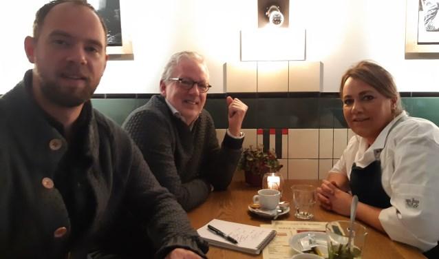 Wouter de Zeeuw, Hans Timmler en Daniëlle Coljée hebben oog voor de medemens.