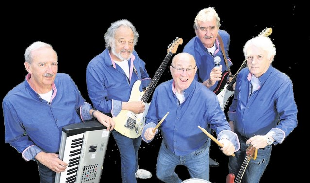 De band Sixties Generations is één van de acts die 8 december optreedt.