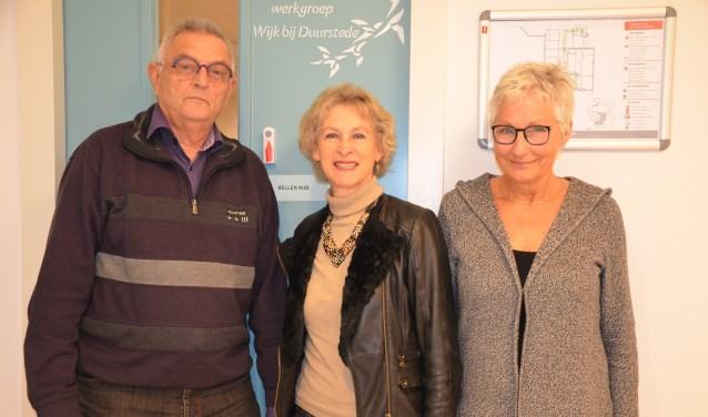 Eric Harmsen, Heidi Hamers en Liesbeth de With
