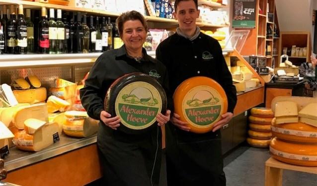 Goede samenwerking tussen de kaaswinkels in de binnenstad en Piazza Center.