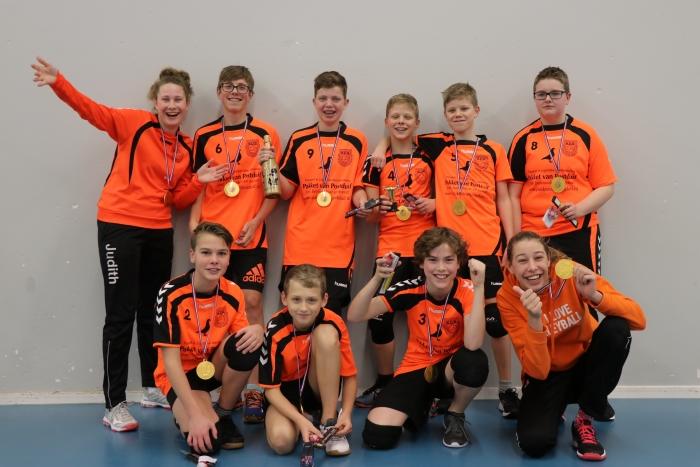 SDS jongens C1 kampioen