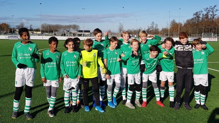 SV Baarn O13-1 Kampioen 1ste klasse