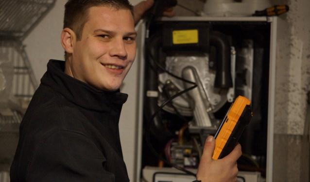 Rijk van de Heg is gestart met installatiewerk van cv's, radiatoren en sanitair.