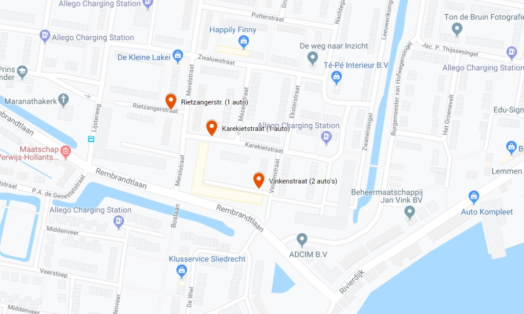 Google Maps © BDU media